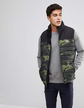 Hollister Fleece Lined Tank in Camo