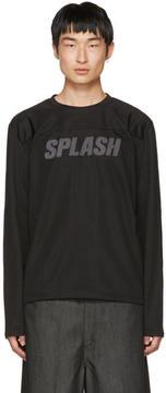 Our Legacy Black Splash Moto Pullover