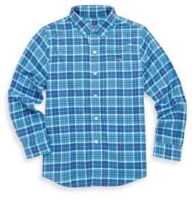 Vineyard Vines Toddler's, Little Boy's & Boy's Plaskett Creek Plaid Cotton Button-Down Shirt