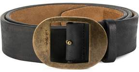 DSQUARED2 two-shaped buckle belt