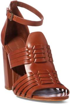 Polo Ralph Lauren | Kierstin Vachetta Sandal | 11 us | Brown