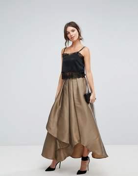 Coast Maxi Gold Skirt