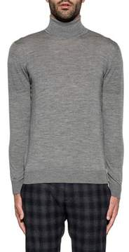 H953 Men's Grey Wool Sweater.