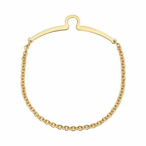 Accessories 14 Kt. Gold Electroplate Tie Chain
