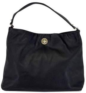 Kate Spade Black Leather Single Handle Shoulder Bag - BLACK - STYLE