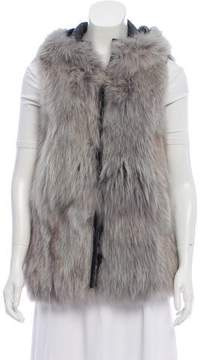 Band Of Outsiders Fox Hooded Vest