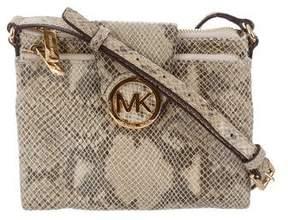 MICHAEL Michael Kors Embossed Shoulder Bag