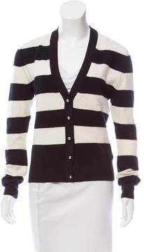 Bouchra Jarrar Striped Wool Cardigan