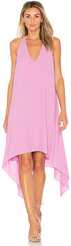 BCBGMAXAZRIA Drape Back Dress