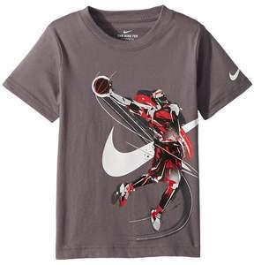 Nike Brush Basketball Player Tee Boy's T Shirt