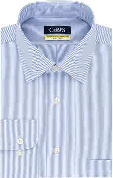 Chaps Mens Regular Fit Comfort Stretch Spread Collar Dress Shirt