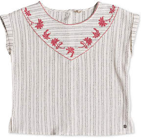 Roxy Big Girls Warm Embrace Cotton Top