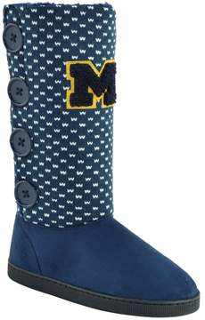 NCAA Women's Michigan Wolverines Button Boots
