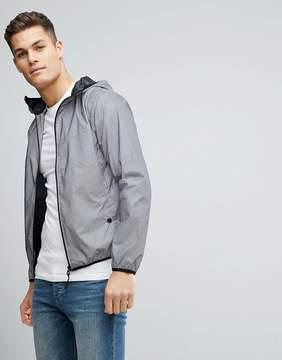 Brave Soul Reflective Windbreaker Jacket