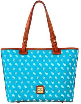 Dooney & Bourke Gretta Small Leisure Shopper Tote - TURQUOISE - STYLE