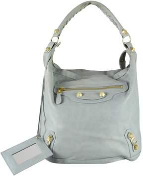 Balenciaga Day leather bowling bag
