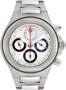 Girard Perregaux Men's Vintage Laureato Evo 3 Chronograph Watch, 44mm