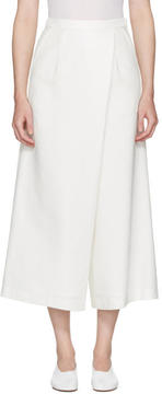 Enfold Ivory Wide Culottes
