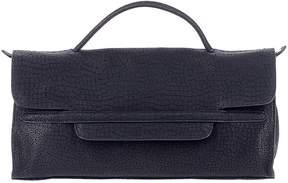 Zanellato Blu Leather Shoulder Bag