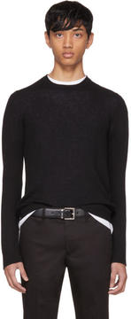 Prada Black Cashmere Crewneck Sweater