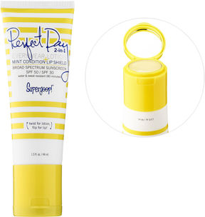 Supergoop! SUPERGOOP Perfect Day 2-in-1 Everywear Lotion SPF 50 + Mint Condition Lip Shield SPF 30