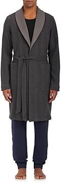Hanro Men's Paul Reversible Cotton-Blend Robe