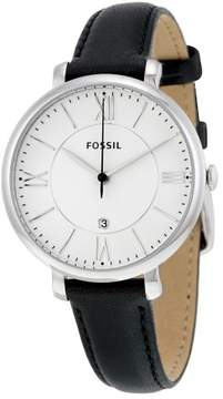 Fossil Jacqueline Silver Dial Ladies Casual Watch ES3972