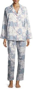BedHead Vanity-Print Long-Sleeve Classic Pajama Set