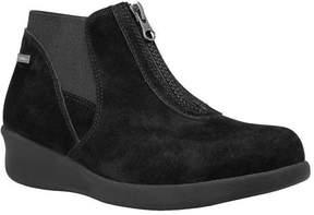Aravon Women's Laurel-AR Waterproof Zip-Up Shoe