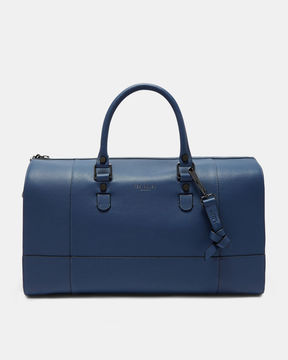 Ted Baker Cross grain leather holdall