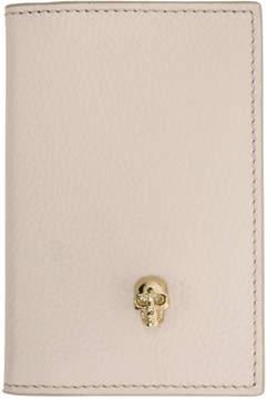 Alexander McQueen Pink Skull Bifold Card Holder