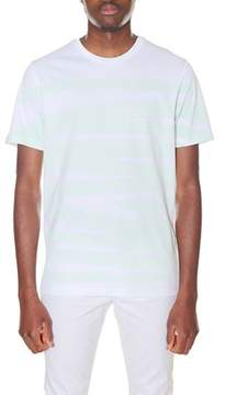 Diesel Black Gold Men's White/green Cotton T-shirt.