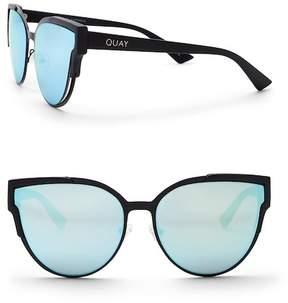 Quay Women's Game On 56mm Cat Eye Sunglasses