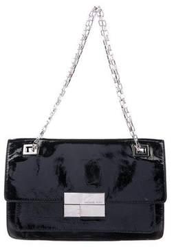 Michael Kors Patent Leather Shoulder Bag - BLACK - STYLE