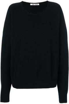 Barena round neck baggy sweater