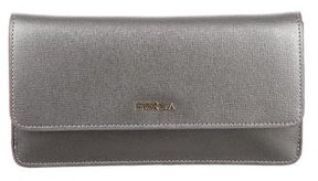 Furla Metallic Leather Wallet