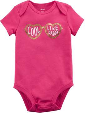 Carter's Baby Girls Cool Like Daddy Bodysuit