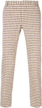Entre Amis checked trousers