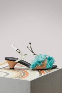 Marni Small heel sandals