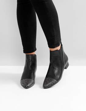 London Rebel Heeled Point Boot