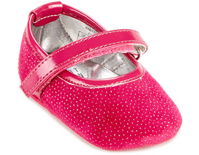 Stuart Weitzman Girls' Baby Caviar Mary Jane (Infant)