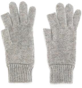 Rick Owens ribbed gloves