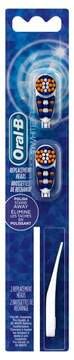 Oral-B 3D White Action Replacement Toothbrush Heads - 2ct