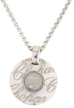 Chopard Chopardissimo Floating Diamond Pendant Necklace