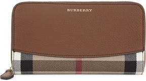 Burberry Elmore house check wallet - TAN - STYLE