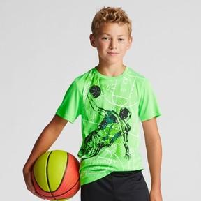 Champion Boys' Graphic Tech T-Shirt Basketball Player