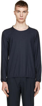 Paul Smith Navy Pin-Dot Pullover