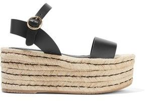 Paloma Barceló Egidia Leather Platform Sandals