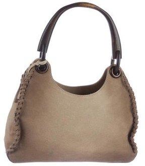 Gucci Wood Handle Shoulder Bag - BROWN - STYLE