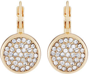 Fragments for Neiman Marcus Pavé Circle Drop Earrings
